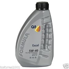 Olio auto Q8 sintetico FORMULA EXCEL 5W40 lotto 2016 top performance