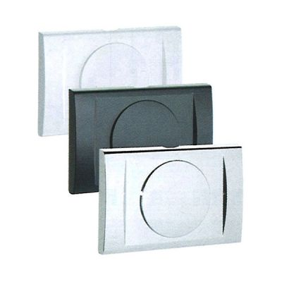 Portiña anthracite for recessed WATER BOX valve, GAS BOX. MADE IN ITALY