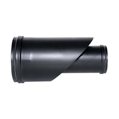 coaxial fitting flue black coaxial pipe D. 100/150 EC steel pellet stove 316 for Made in Italy UNI 1856/2