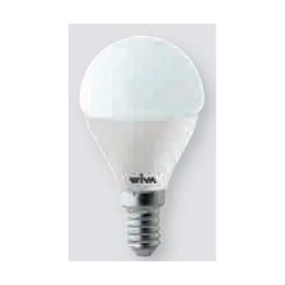 bulb 6w basic opal sphere led small attack e14 warm light 3000k